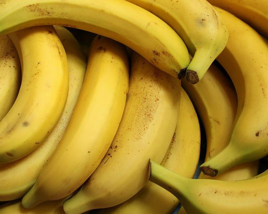 Do bananas have seeds picture of bunch of bananas