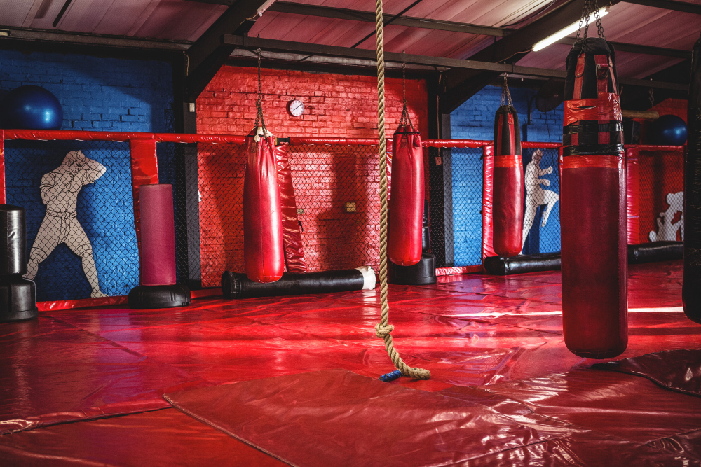 Boxing Gym - Walking in for the First Time