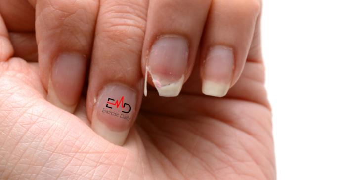 my nail broke really far down