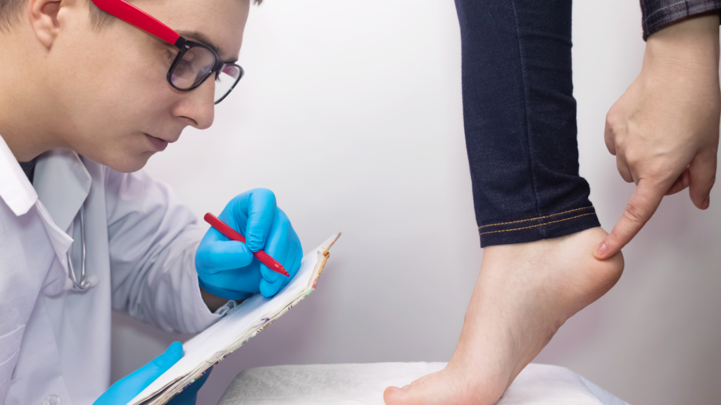heel spurs surgery recovery time - diagnosis
