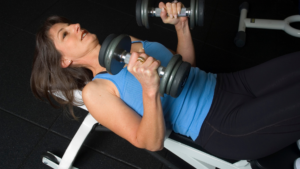 How to Increase Breast Size By Massage- chest press extension