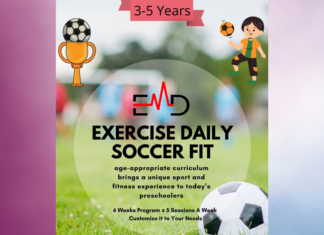 Exercise Book - Exercise Daily Soccer Fit Curriculum (3-5 Yrs)